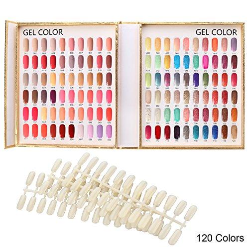 nail polish golden color - 1
