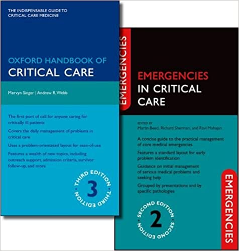 Oxford Handbook of Critical Care Third Edition and Emergencies in Critical Care Second Edition Pack (Pack)