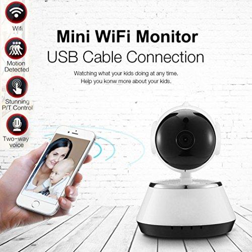 Creazy Wireless 720P Pan Tilt Network Security CCTV IP Camera Night Vision WiFi Webcam by Creazydog (Image #1)