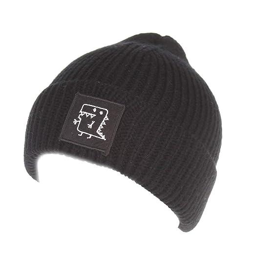 6a5643edeec Amazon.com  Gallity Toddler Winter Hat Cold Weather Hat Infant Baby Boys  Girls Knited Woolen Outdoor Ski Hat (Black)  Garden   Outdoor
