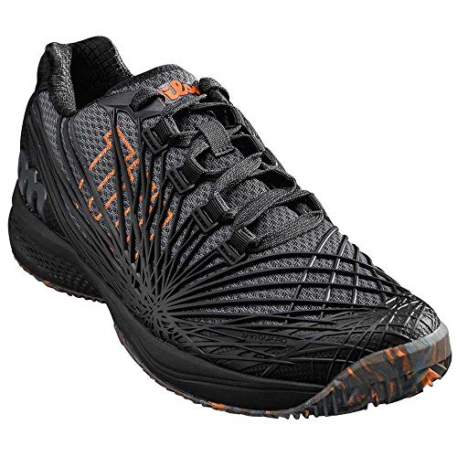 Para 2 Kaos 0 Shocking Zapatillas Black ebony Tenis Court Negro Wilson De Hombre Clay 000 Orange 8q5w1RdR