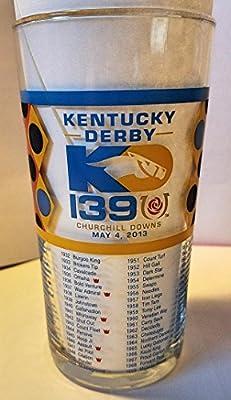 Kentucky Derby Official 139th Julep Derby Glass 2013 -- Churchill Downs