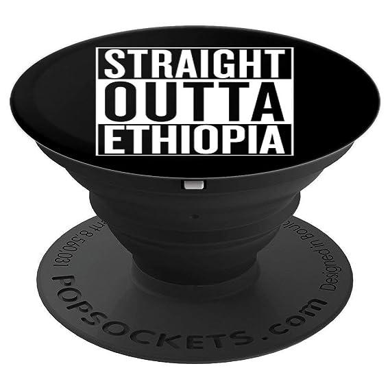 Amazon com: Straight Outta Ethiopia Pop Socket Travel Gift Idea