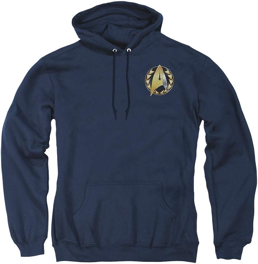 A&E Designs Star Trek Hoodie Discovery Admiral Badge Navy Hoody
