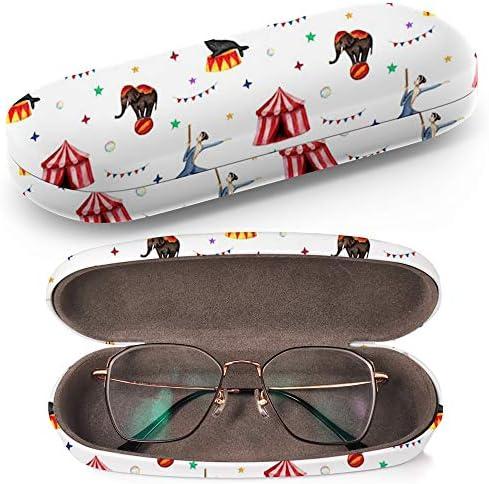 Art-Strap Circus Elephant Seal Tiger - Estuche para gafas de sol (plástico con gamuza limpiadora): Amazon.es: Ropa y accesorios