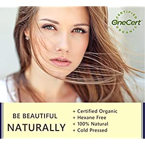 Eyelash Growth Serum Organic Castor Oil by Oriel Bay - All Natural, Cold Pressed, Hexane Free, Applicator Kit Included