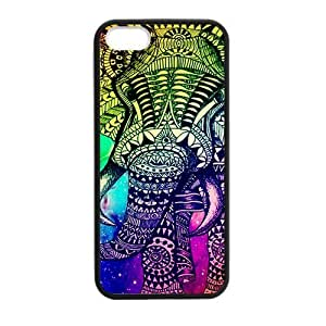 DIY Design Cute Vintage Newspaper Elephant Aztec Floral Trunk-Protective TPU Cover Case for iphone 6 // (Laser Technology)case Perfect as Christmas gift01
