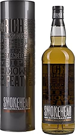 Smokehead Extra Rare Single Malt Scotch Whisky - 1000 ml