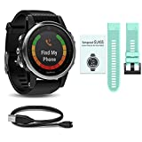 Garmin Fenix 5S Value Bundle - The All-In-One & All-Style Ultimate Bundle you can't do without. Choose Your Favorite Garmin Watch - Sapphire / Black / Champagne / Silver / White & more.