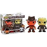 Funko Pop! Movies Freddy Krueger & Jason Voorhees Bloody Vinyl Figure Set - BoxLunch Exclusive