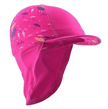 Gorro solar para niños – upf45 sombreros de protección solar infantiles, uso en seco y