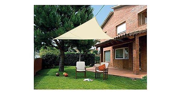 Desconocido Kit SunNet Malla Sombreadora Impermeable Beige: Amazon.es: Jardín