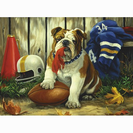 Great American Puzzle Factory Possession of the Football 550 Piece Puzzle