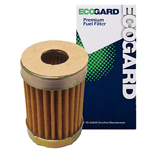 ECOGARD XF10119 Engine Fuel Filter - Premium Replacement Fits Chevrolet Camaro, Chevelle, Nova, G10, Monte Carlo, Impala, El Camino, Caprice, Corvette, G30, P10, C20, C10 Suburban, K5 Blazer, C10 (Fuel Chevy Impala Filter)