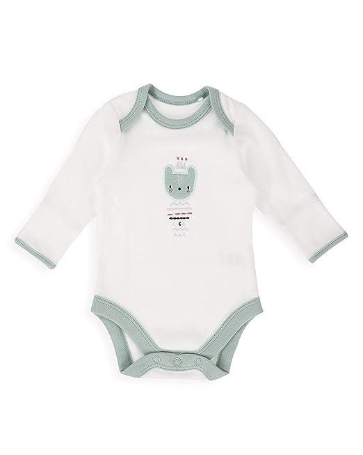 The Essential One - Bebé Unisex Body con Estampado de Oso - Crema ...