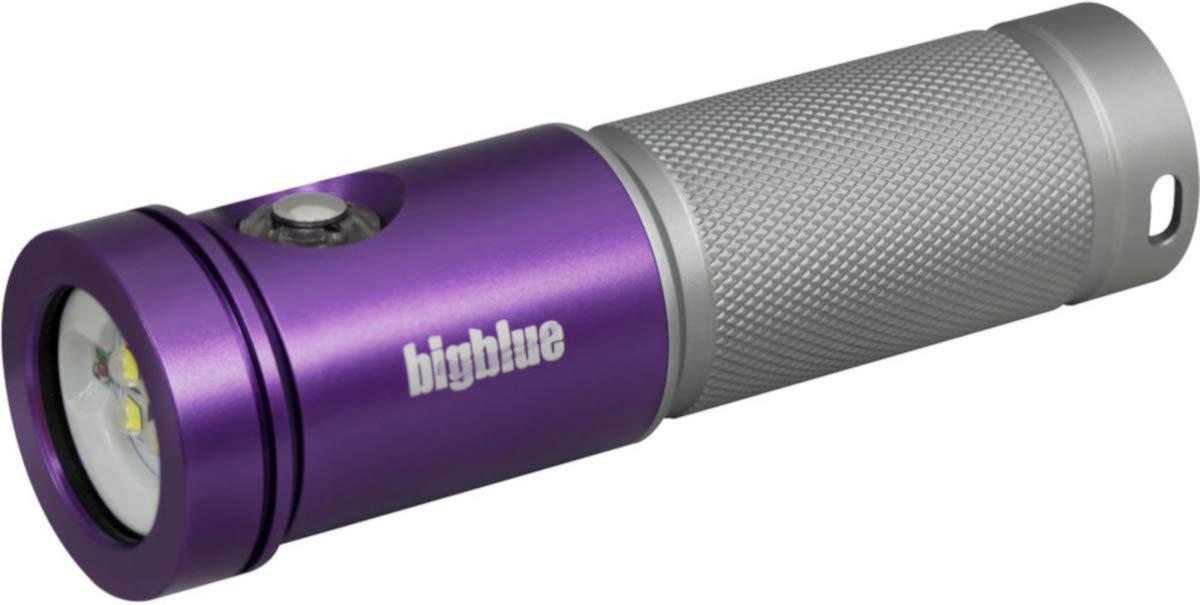 BigBlue AL1800XWP-II 1800ルーメン 3色 ダイブ ビデオ ライト  パープル/シルバー B07KSPK8M4