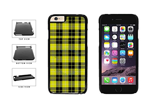 BleuReign(TM) Yellow Lumberjack Buffalo Plaid Plastic Phone Case Back Cover For Apple iPhone 6 Plus and iPhone 6s Plus (5.5 Inches Screen) ()