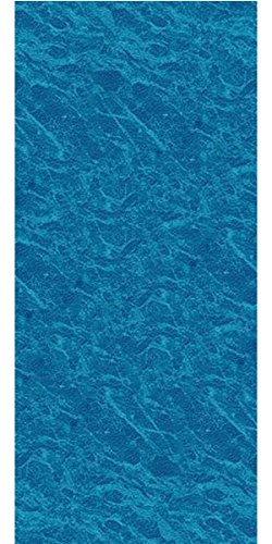 25 Gauge Vinyl Liner (Smartline 24-Foot Round Pacific Ice Liner | UniBead Style | 52-Inch Wall Height | 25 Gauge Virgin Vinyl | Designed for Steel Sided Above-Ground Swimming Pools)