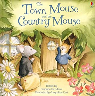 book cover of Town Mouse and the Country Mouse