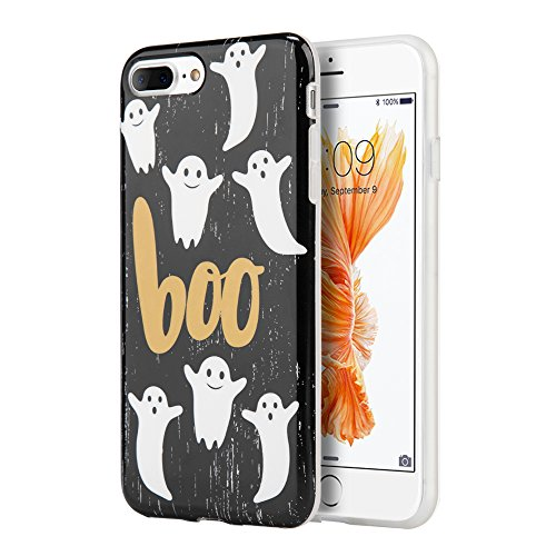 For Iphone 8 plus protective Case , iphone 7 plus protective Case , [ Storm Buy ] Halloween Series Sturdy Rubber Hybrid Dual Layer Case Cover For [ Iphone 8 Plus / Iphone 7 Plus ] (BOO)