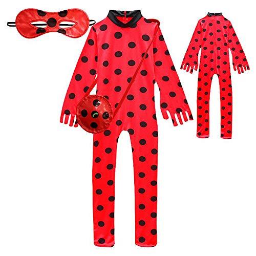 Amazon.com: Disfraz de mariquita para niñas, disfraz de ...