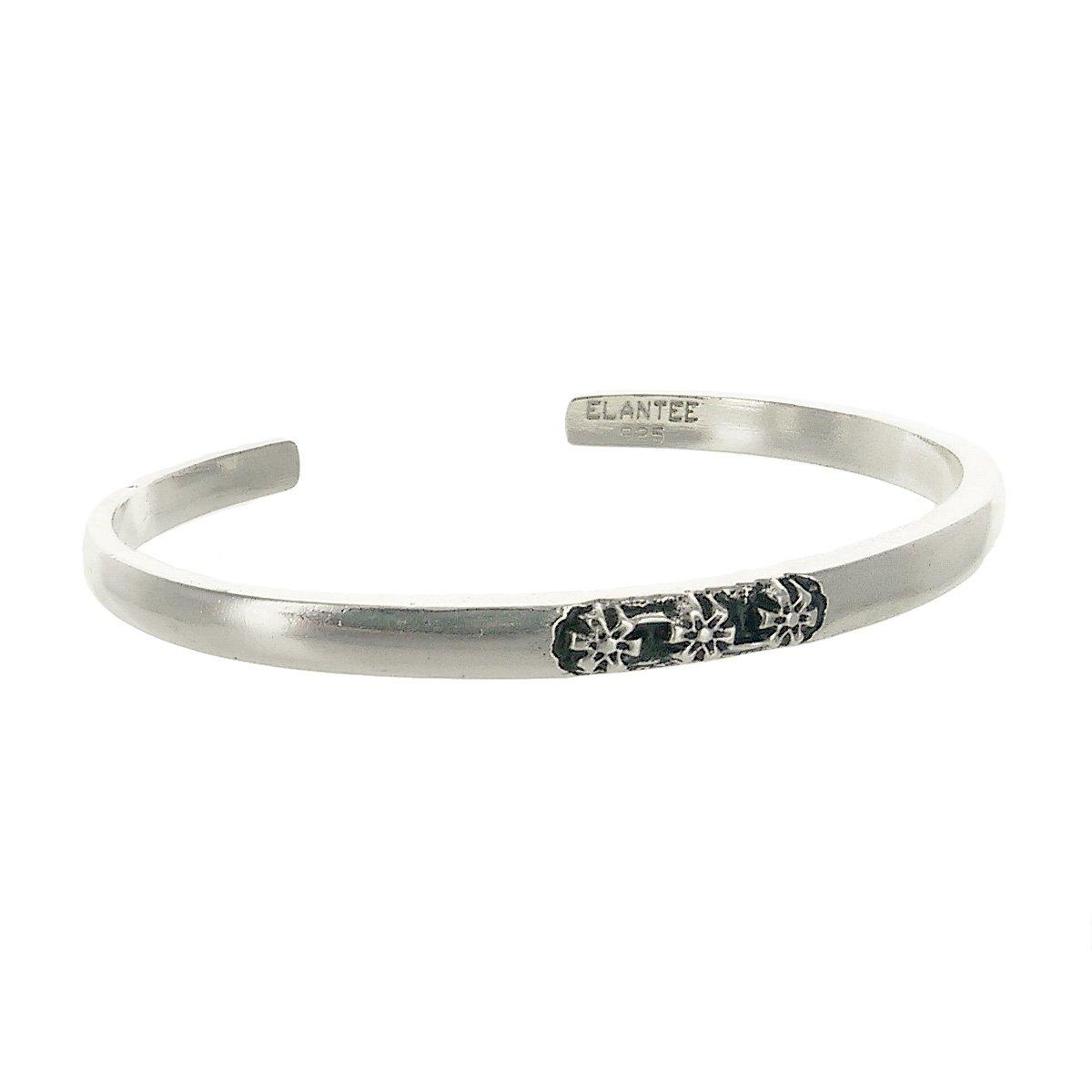 Sterling Silver You Are Appreciated Cuff Bracelet 5oz 2.5'' dia by Elantee