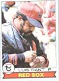 Luis Tiant Boston Red Sox (Baseball Card) 1979 Topps #575