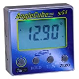 iGaging 35-2269 Angle Gage BACKLIT Digital Electronic Magnetic Level/Protractor/Bevel Gauge Angle Cube Gen 3