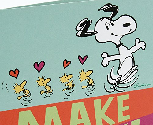 Hallmark Peanuts Valentine's Day Pop Up Card (Snoopy and Woodstocks) Photo #5