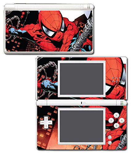 Spider-Man Spiderman Comic Movie Video Game Vinyl Decal Skin Sticker Cover for Nintendo DS Lite (Ds Lite Cover)
