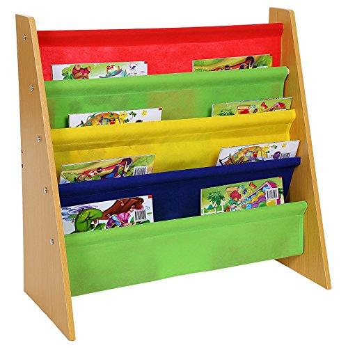 Songmics Kinderregal Bücherregal 63 x 60 x 27 cm GKR05Y