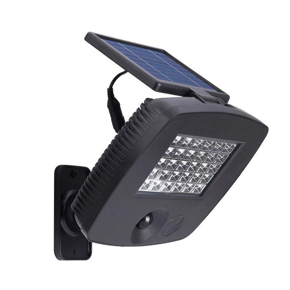 Suguoguo Solar Lights, Split Light Outdoor Waterproof 30LED Human Body Intelligent Induction Garden Lamp Outdoor Waterproof Street Wall Light