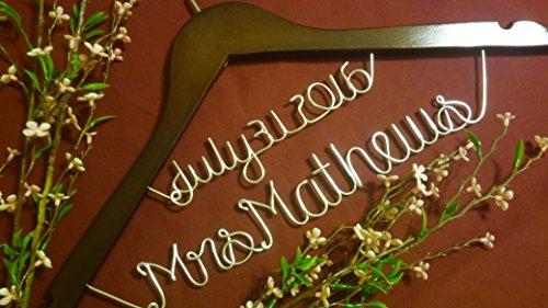 Wedding hanger bridesmaid wedding personalized product image