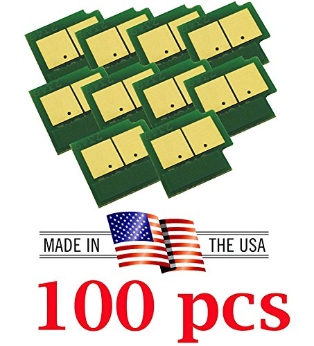 AAA Compatible Toner Reset Chip Replacement for Xerox Color 550/560/570 Digital Printer Refill (DMO) (Black, Cyan, Magenta, Yellow, 100-Pack)