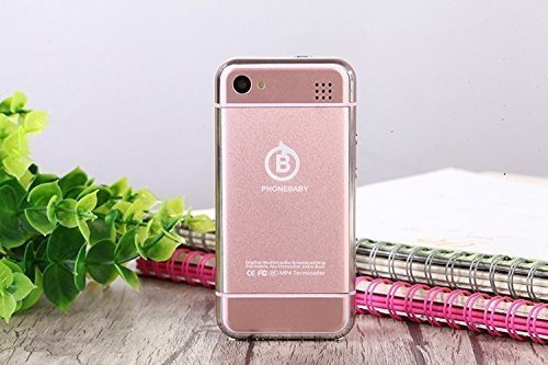 Sudroid SOYES Mini 2.45 Inch Cell Phone Smartphone Android Phone Mtk6572 CPU Wifi (Rose Gold)