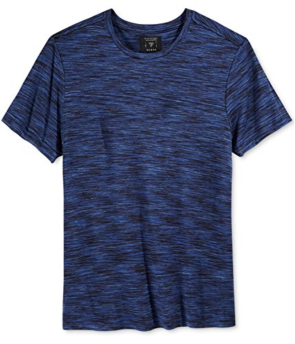 Guess Mens Space Dye Graphic T Shirt