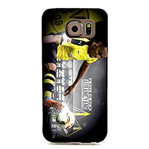 3D Classic Vintage BVB Borussia Dortmund Cell Phone Case for Samsung Galaxy S6 Edge Bundesliga Football Player Pierre Emerick Aubameyang
