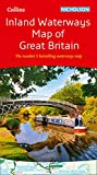 Collins Nicholson Inland Waterways Map of Great Britain: The bestselling guides to Britain's canals and rivers (Nicholson Waterways Map)