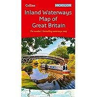 Collins Nicholson Inland Waterways Map of Great Britain: The number 1 bestselling waterways map (Nicholson Waterways Map)