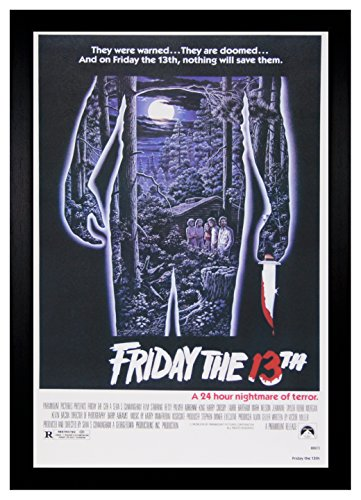 FRIDAY THE 13TH CLASSIC MOVIE POSTER 24x36-51198