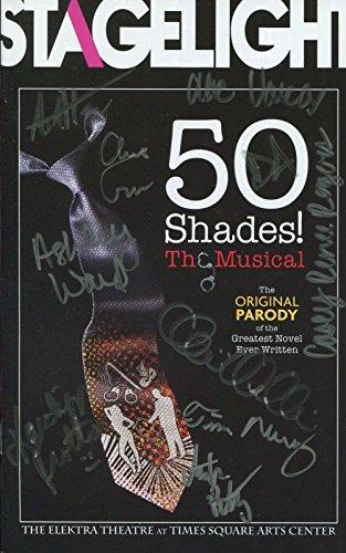 50 Shades Hand Signed Ny City Playbill+Coa Signed On Cover By Cast - City Cast Signed