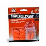 WALKERS GAME EAR GSMFP5PK, Foam Ear Plugs, 5-Pack