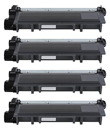 Printronic 4 Pack Compatible Brother TN630 TN660 Toner Cartridge Black for Brother MFC-L2700DW HL-L2340DW MFC-L2740DW DCP-L2520DW DCP-L2540DW HL-L2360DW HL-L2380DW HL-L2300D MFC-L2720DW HL-L2320D MFC-L2705DW Printer
