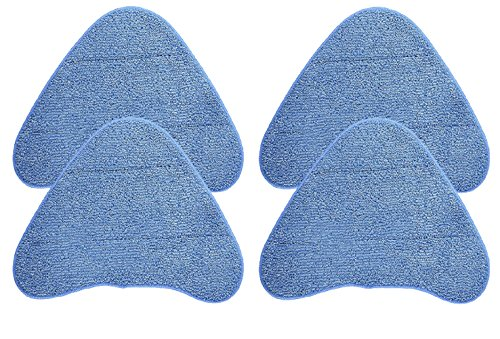 Green Label 4 Pack for Hoover Multi-Surface Microfiber Steam Mop Pads (compares to WH01000) by Green Label