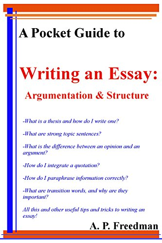 How To Write An Essay For High School  High School Application Essay Samples also Essays About Health Care A Pocket Guide To Writing An Essay Argumentation And Essay  The Importance Of Learning English Essay