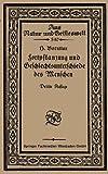 Fortpflanzung und Geschlechtsunterschiede des Menschen : Eine Einführung in Die Sexualbiologie, Boruttau, H., 3663154246