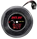 Tennis String 200m Blackout 1.24 mm for Topspin
