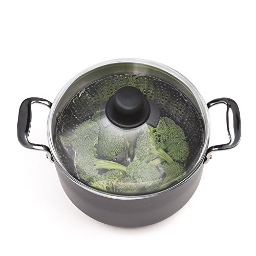 OXO Good Grips Stainless Steel Steamer with Extendable Handle by OXO (Image #5)