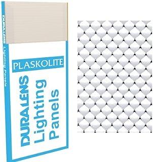 Plaskolite Lighting Panel 2 u0027 X 4 u0027 Duralens Clear  sc 1 st  Amazon.com & Plaskolite Lighting Panel 2 u0027 X 4 u0027 Prismatic Acrylic Clear ... azcodes.com