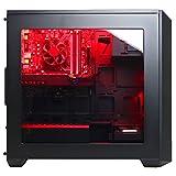 CYBERPOWERPC-Gamer-Xtreme-VR-GXiVR8020A2-Desktop-Gaming-PC-Intel-i5-7400-30GHz-AMD-RX-480-4GB-8GB-DDR4-RAM-1TB-7200RPM-SATA-III-HDD-80211AC-WIFI-USB-Adapter-Win-10-Home-Black